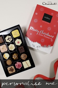 Personalised Merry Christmas Patisserie H Box by Hotel Chocolat