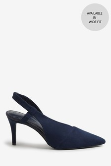 Asymmetric Slingback Shoes