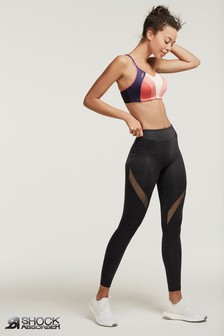 Shock Absorber Leggings, schwarz