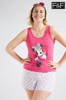 F&F Pink Minnie Mouse Pyjamas