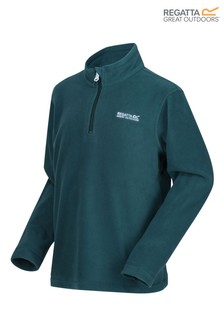 Regatta Green Hot Shot II Half Zip Fleece
