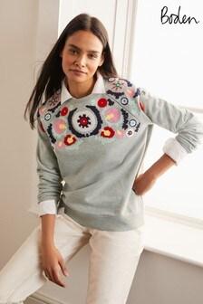 Boden Grey The Sweatshirt