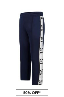 Mini Rodini Boys Navy Joggers