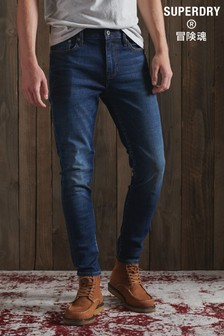 Superdry Dark Blue Skinny Fit Jeans
