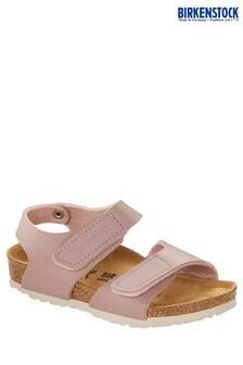 Birkenstock® Pink Velcro Sandals