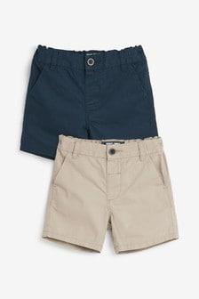 2 Pack Chino Shorts (3mths-7yrs)