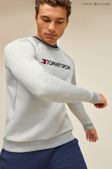 Tommy Sport Logo Fleece Sweatshirt