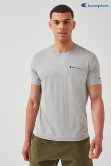 Champion Grey Crewneck T-Shirt