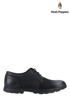Hush Puppies Black Trevor Shoes