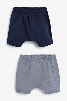 2 Pack Woven Shorts (0mths-2yrs)