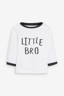 Little Brother Long Sleeved T-Shirt (0mths-2yrs)