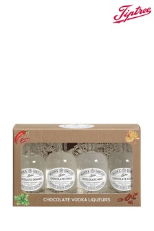 Set of 4 Miniature Chocolate Vodka Liqueurs Gift Box by Tiptree