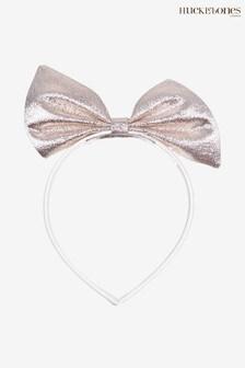 Hucklebones Gold Bow Hairband
