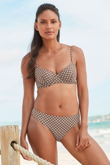 Non Pad Underwired Bikini Top