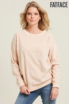 FatFace Pink Bobby Crew Sweater