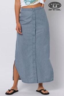 Animal Blue Daydreamer Maxi Skirt