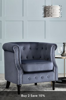 Arthur Accent Chair With Black Legs