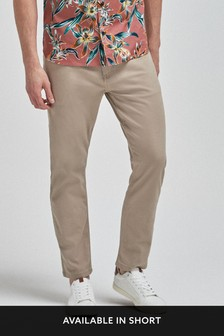Soft Touch Jeans Style Trousers