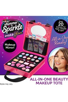 Shimmer N Sparkle Insta Glam All-In-One Beauty Make-Up Tote Bag