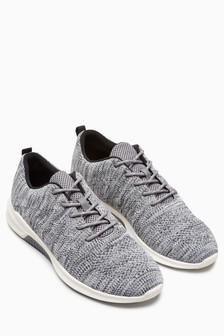 Textured Knit Trainer