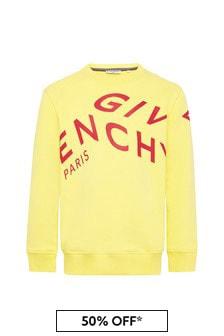 Givenchy Kids Boys Cotton Sweat Top
