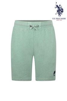 U.S. Polo Assn. Acid Wash Sweat Shorts