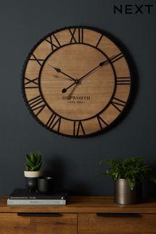 Bronx Wooden Wall Clock