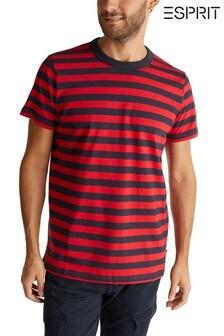 Esprit Red Jersey Top