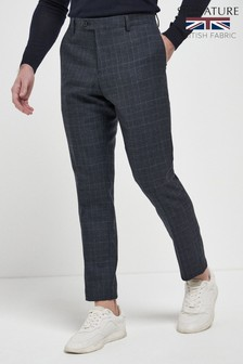 Empire Mills Check Suit: Trousers