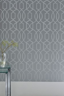 silver wallpaper silver marble printed wallpaper next uk