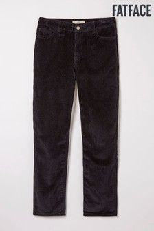 FatFace Black Cord Chesham Trousers