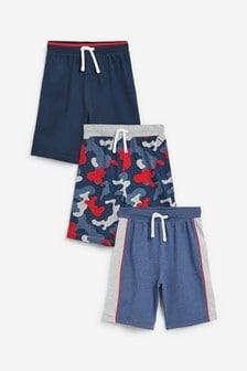 3 Pack Pyjama Shorts (3-16yrs)