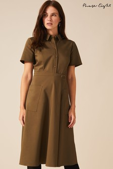 Phase Eight Green Valeria Utility Dress