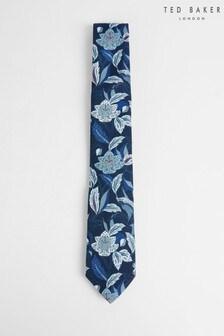 Ted Baker Sweepin Printed Floral Crane Tie