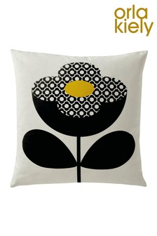 Orla Kiely Buttercup Stem Floral Cotton Cushion