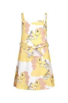 Mini Rodini Girls Yellow Dress