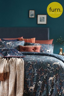 Richmond Duvet Cover and Pillowcase Set by Furn