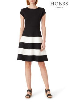 Hobbs Black Lizzie Dress