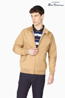 Ben Sherman Sand Signature Harrington Jacket