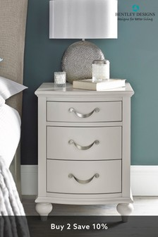 Montreux 3 Drawer Nightstand by Bentley Designs