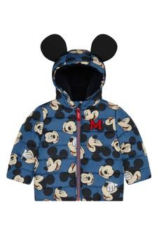 F&F Grey Mickey Mouse™ Padded Coat