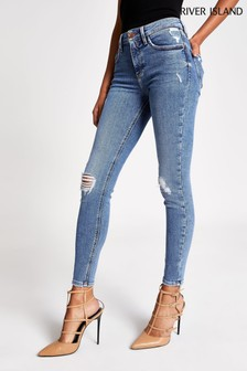 River Island Blue Amelie Marilyn Jeans