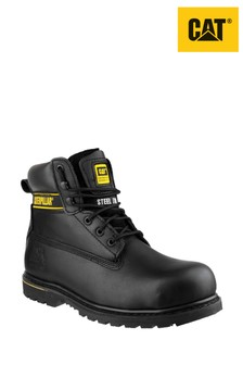 CAT® Black Holton Safety Boots