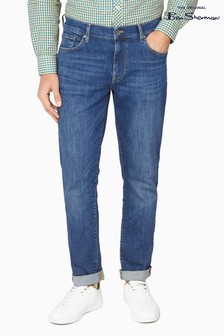 Ben Sherman Blue Five Pocket Jeans
