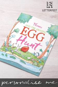 Personalised Easter Egg Hunt Book by Letterfest