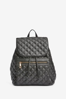 Quilted Chain Rucksack