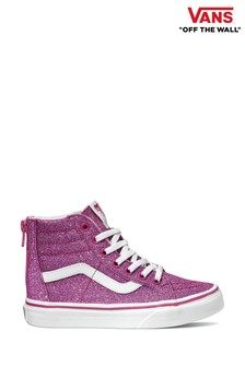 Vans Youth Glitter High Trainers