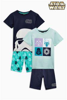 Komplet dveh kratkih pižam Star Wars™ (3–14 let)