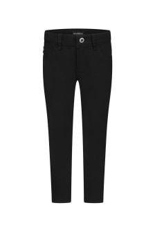 Emporio Armani Boys Black Denim Jeans