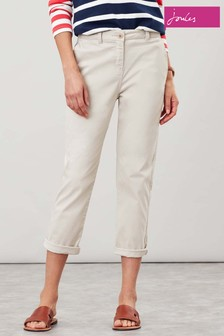 Joules Natural Hesford Crop Chinos